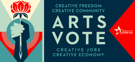 Arts Vote image from Americans for the Arts