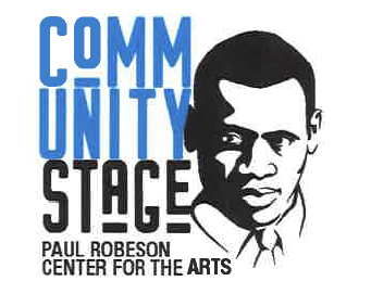 Community Stage Paul Robeson Center for the Arts logo